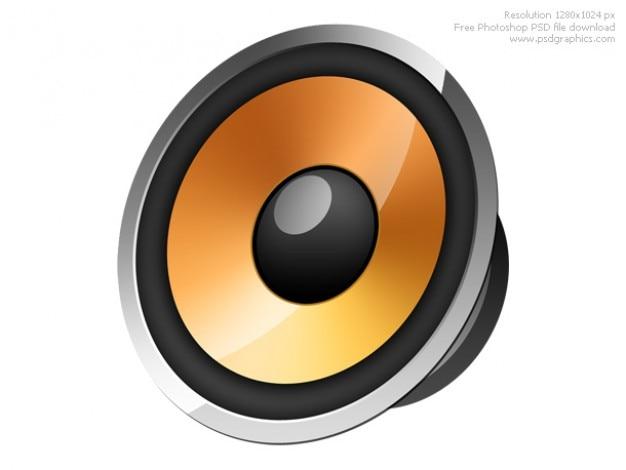 Lautsprecher-Symbol | Download der kostenlosen PSD