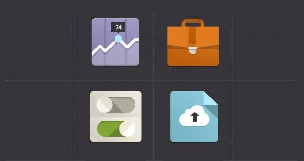 Minimalistisch flache ikonen download der kostenlosen psd for Was ist ein minimalist