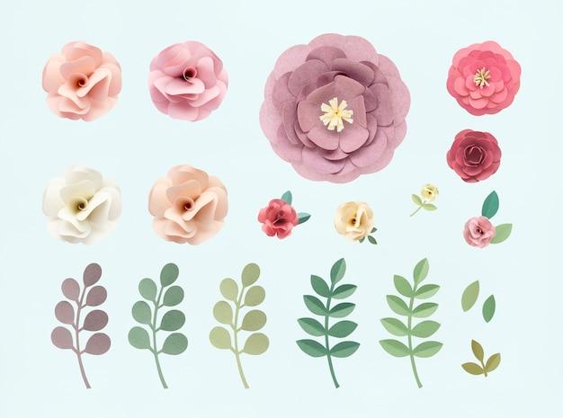 rosen muster blumenbeschaffenheits konzept kostenlose psd - Konzept Muster