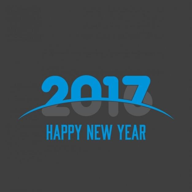 2017 conception créative bonne année Vecteur gratuit