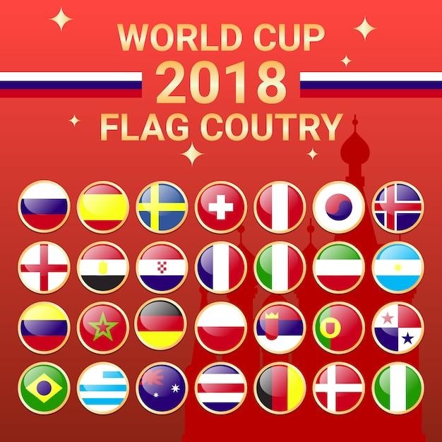 2018 coupe du monde quipe pays drapeau russie - Coupe du monde 2018 pays organisateur ...
