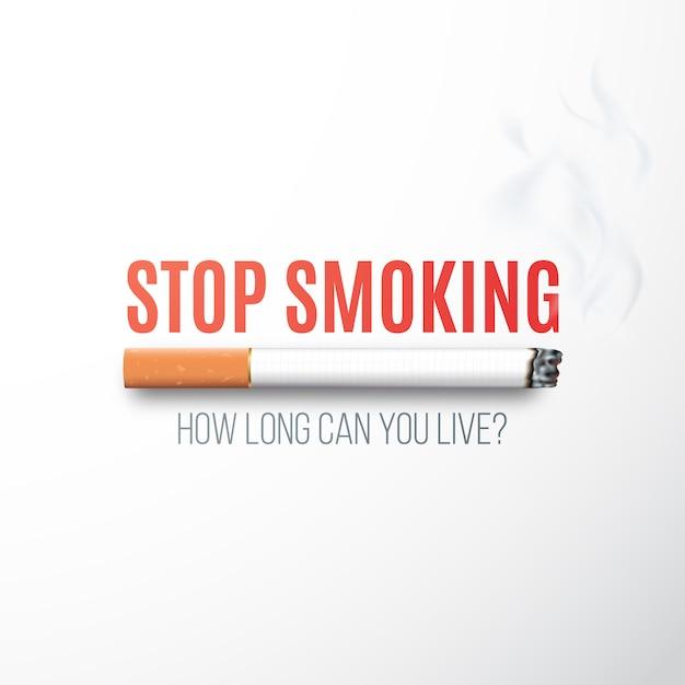 31 Mai, Journée Mondiale Sans Tabac. Vecteur Premium