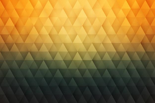 3d abstrait géométrique vecteur Vecteur Premium