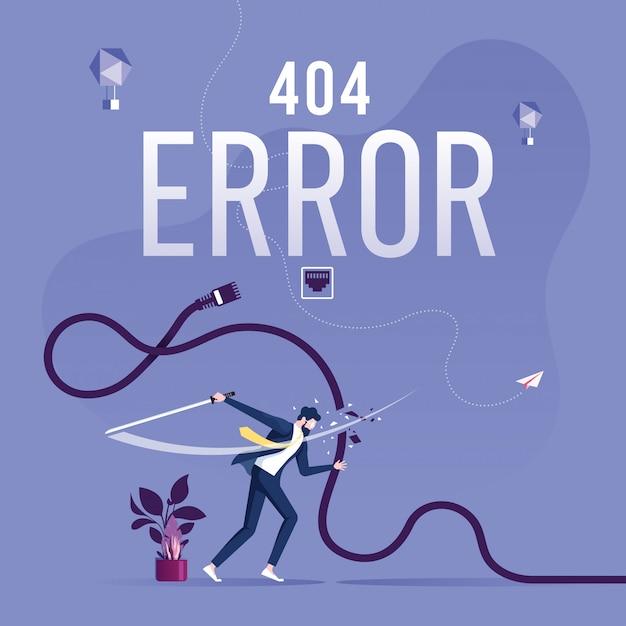 404 Page D'erreur Ou Fichier Introuvable Pour La Page Web Vecteur Premium
