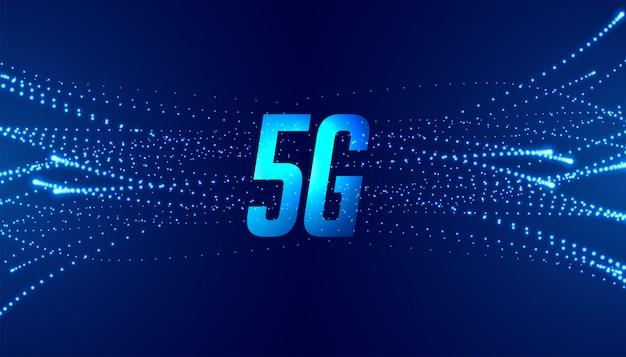 5g Cinquième Fond De Technologie De Télécommunications De Vitesse Générativeast Vecteur gratuit