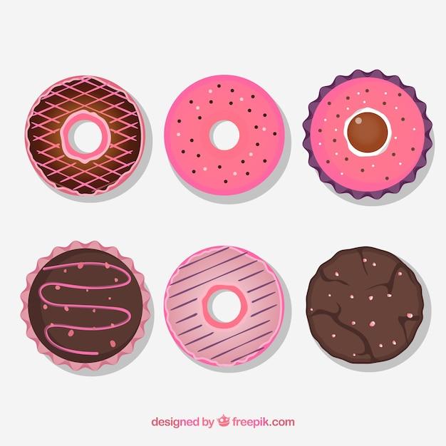 6 Biscuits Vecteur gratuit
