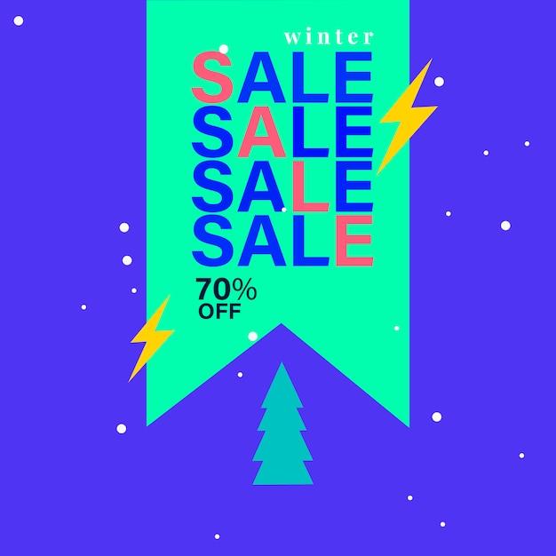 70% de réduction sur le badge vente Vecteur gratuit