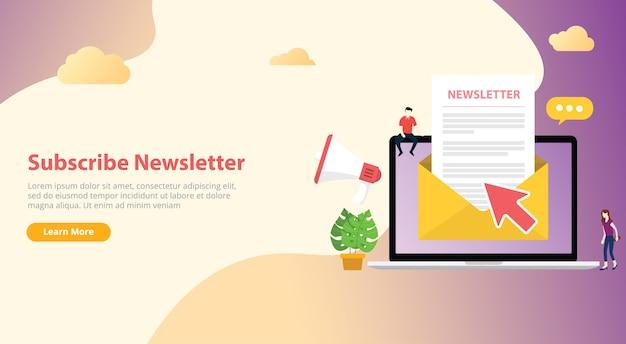 Abonnez-vous à la newsletter Vecteur Premium