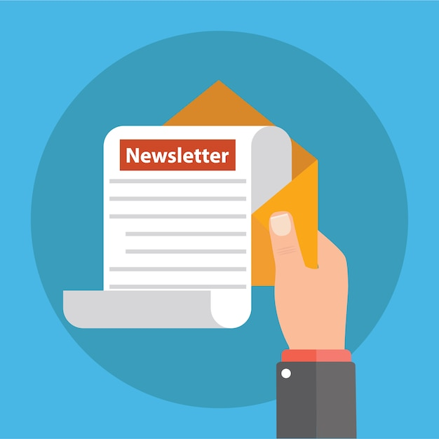 Abonnez-vous à notre newsletter Vecteur Premium