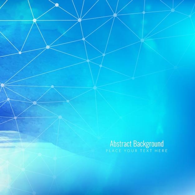 Abstarct blue technology background Vecteur gratuit