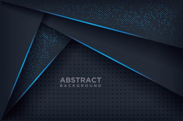Abstrait 3d. Vecteur Premium