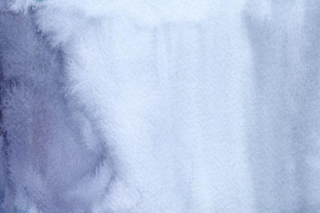 Abstrait Aquarelle Bleu. Texture Aquarelle Dessinée à La Main Vecteur Premium