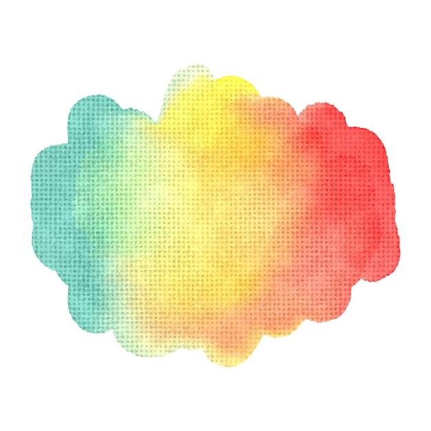 Abstrait aquarelle pour votre conception. Vecteur Premium