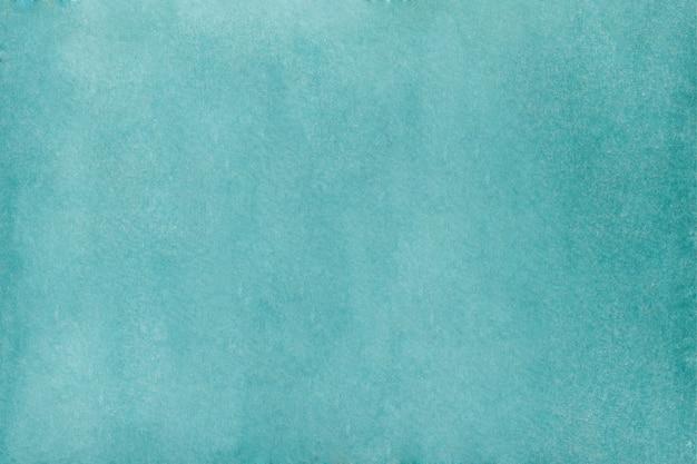 Abstrait Aquarelle Turquoise. Texture Aquarelle Dessinée à La Main Vecteur Premium