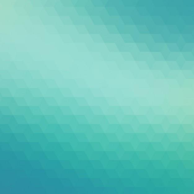 Abstrait arrière-plan géométrique dans des tons turquoise Vecteur gratuit