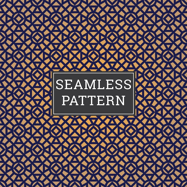 Abstrait art deco seamless pattern Vecteur Premium