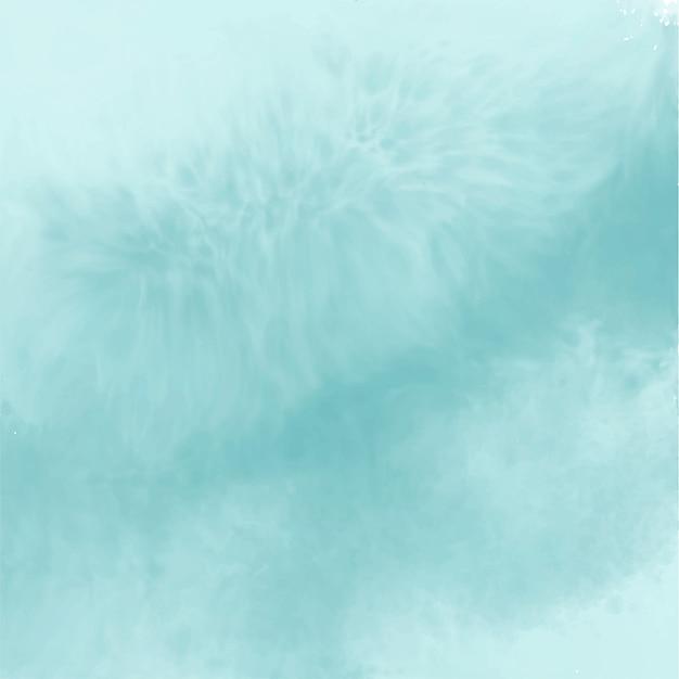 Abstrait Bleu Aquarelle Vide Vecteur gratuit