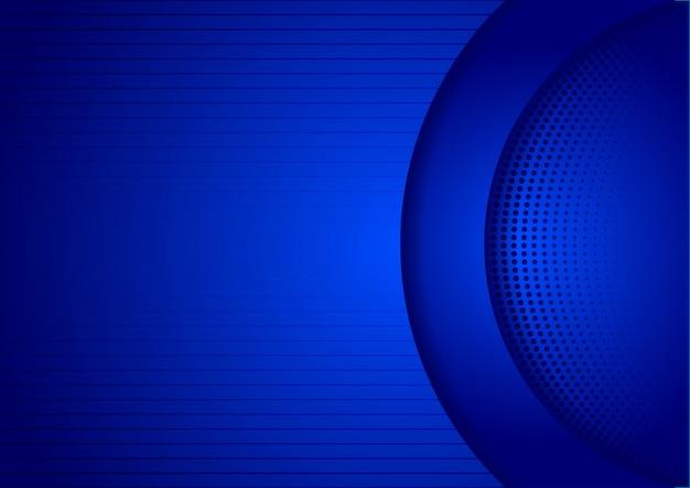 Abstrait bleu backgorund design ombre de la technologie Vecteur Premium
