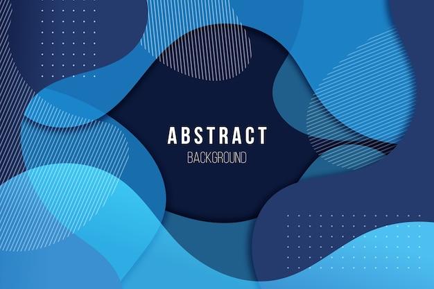 Abstrait Bleu Classique Vecteur gratuit