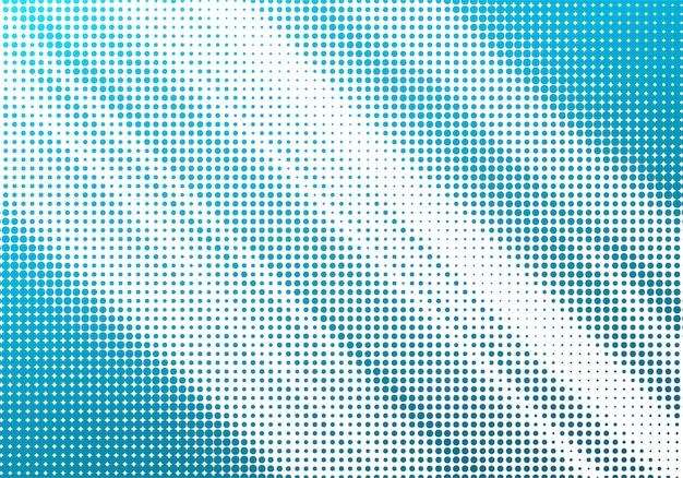 Abstrait Bleu Demi-teinte Fond Blanc Vecteur gratuit