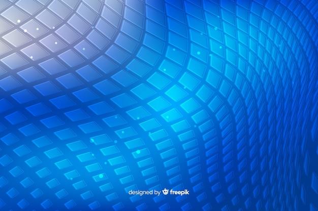 Abstrait bleu forme de peau de serpent Vecteur gratuit
