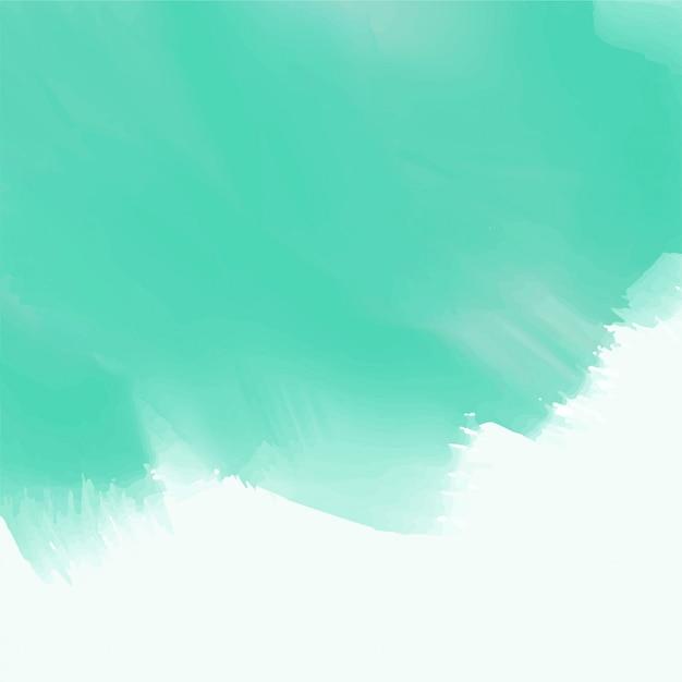 Abstrait bleu texture aquarelle Vecteur gratuit