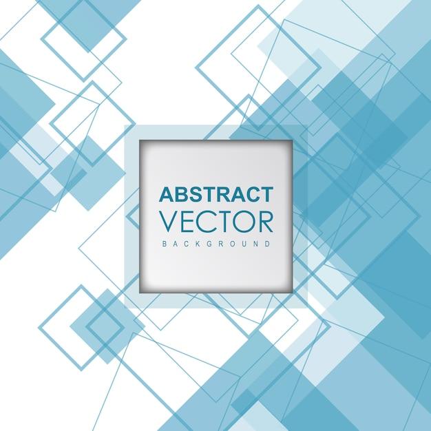 Abstrait bleu vecteur Vecteur gratuit