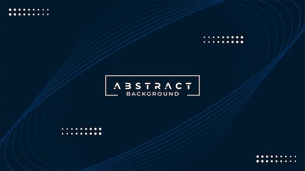 Abstrait Bleu Vecteur Premium