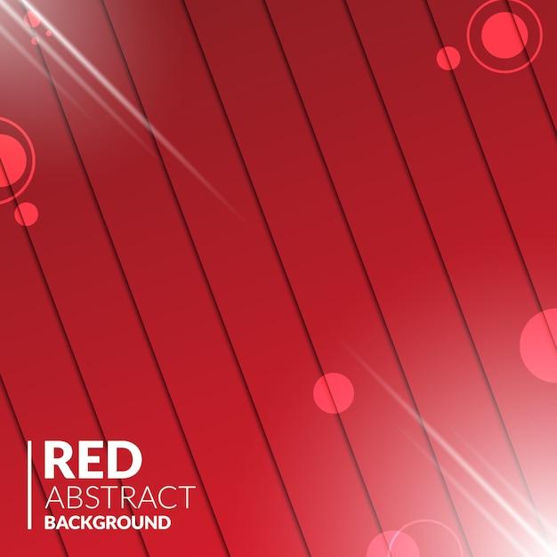 Abstrait bois rouge avec des lumières brillantes Vecteur Premium