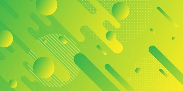 Abstrait Coloré à Géométrie Minimale Vecteur Premium