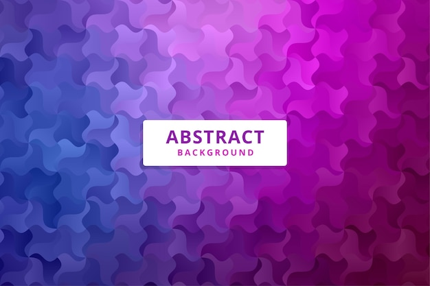 Abstrait Coloré. Motif De Formes Dégradées. Vecteur Premium