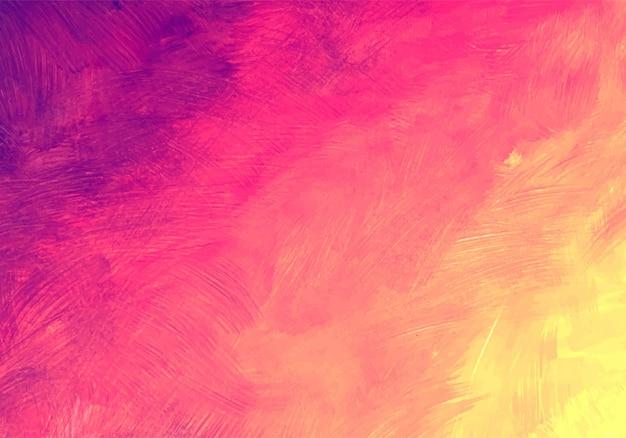 Abstrait Coloré Texture Aquarelle Douce Vecteur gratuit