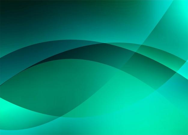 Abstrait coloré vague créative Vecteur gratuit