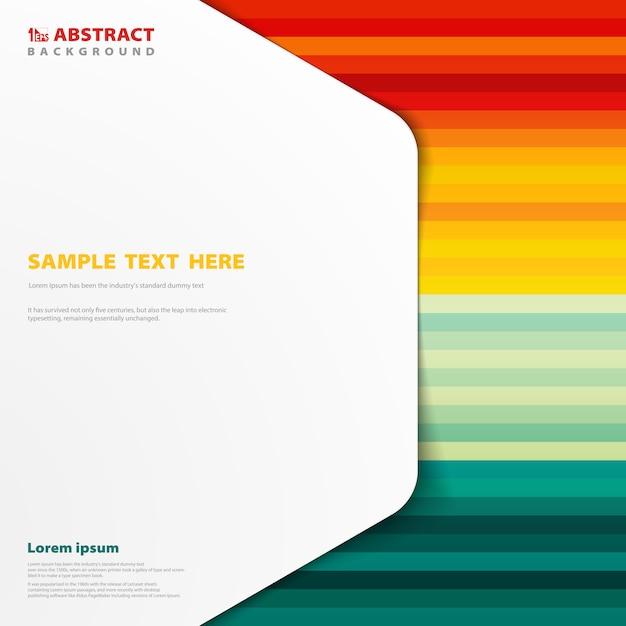 Abstrait de couleur de l'été avec un modèle d'espace de copie de couverture Vecteur Premium