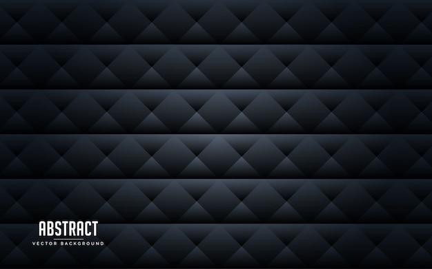 Abstrait couleur géométrique noir et gris Vecteur Premium