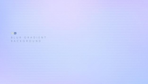 Abstrait Couleur Pastel Bleu Clair Fond Flou Bannière Web Panoramique Horizontale. Vecteur Premium