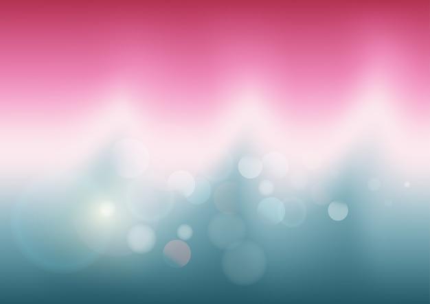 Abstrait de couleur pastel avec bokeh Vecteur Premium