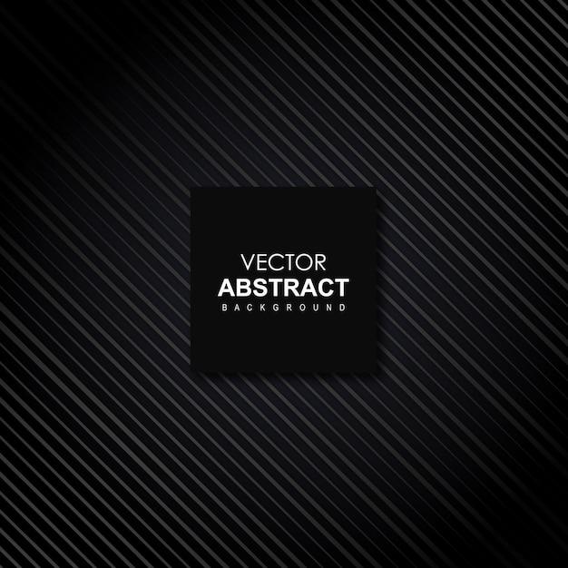 Abstrait de vecteur noir Vecteur gratuit