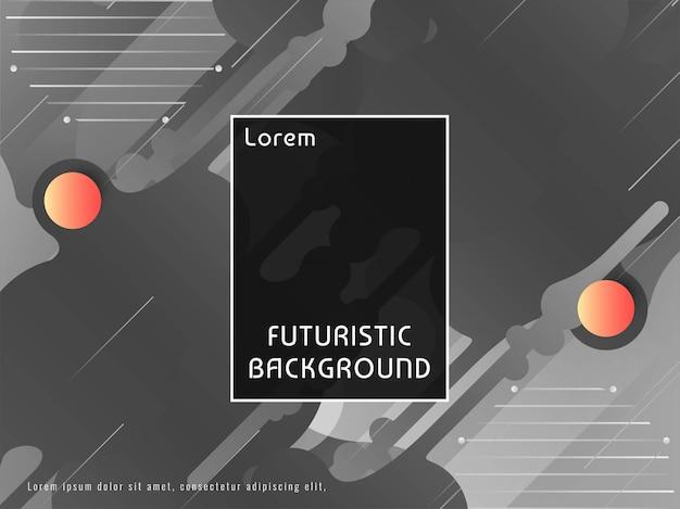 Abstrait décoratif vector techno futuriste Vecteur gratuit