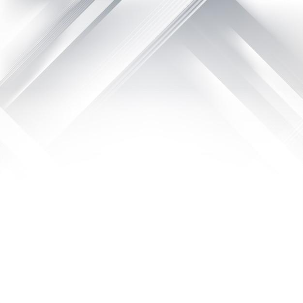 Abstrait dégradé gris et blanc Vecteur gratuit