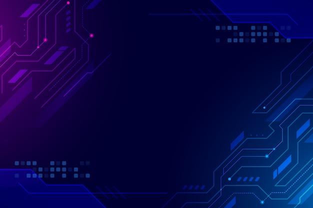 Abstrait Design Futuriste Vecteur Premium