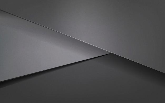 Abstrait design en gris foncé Vecteur gratuit
