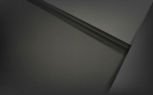Abstrait design en noir Vecteur gratuit