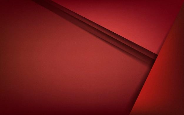 Abstrait design en rouge profond Vecteur gratuit