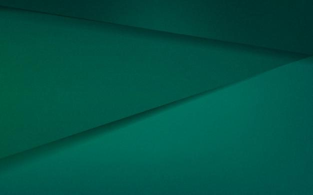 Abstrait design en vert émeraude Vecteur gratuit