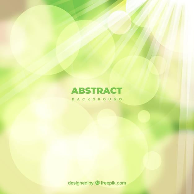 Abstrait élégant avec effet flou Vecteur gratuit