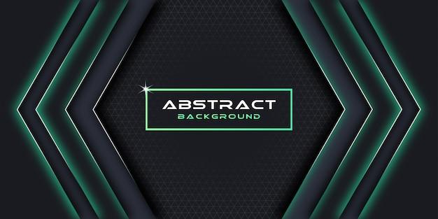 Abstrait et élément de conception géométrique. Vecteur Premium