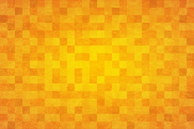 Abstrait Fond Jaune Orange Vecteur Premium