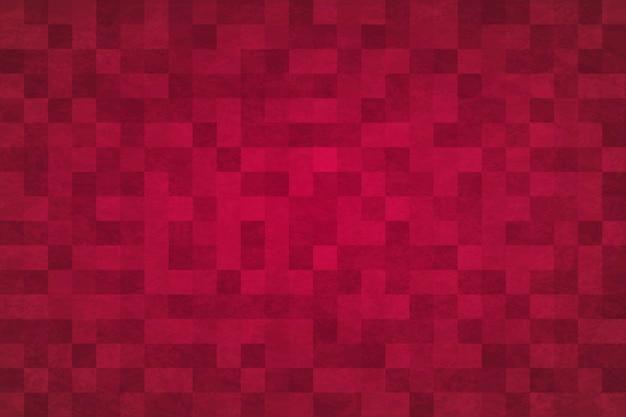 Abstrait Fond Rouge Vecteur Premium