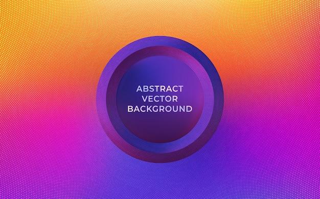Abstrait Fond Violet Jaune Brillant Vecteur Premium